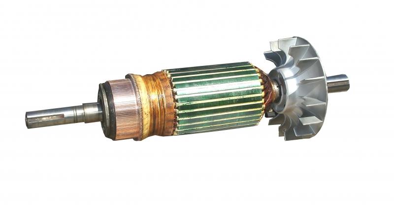 120 Bar Ge Baldor Us Motors Armature Rewind Eurton