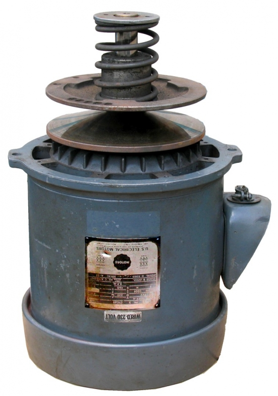 Bridgeport 1 Amp 2 Hp Spindle Motor Rebuild Motor Repair