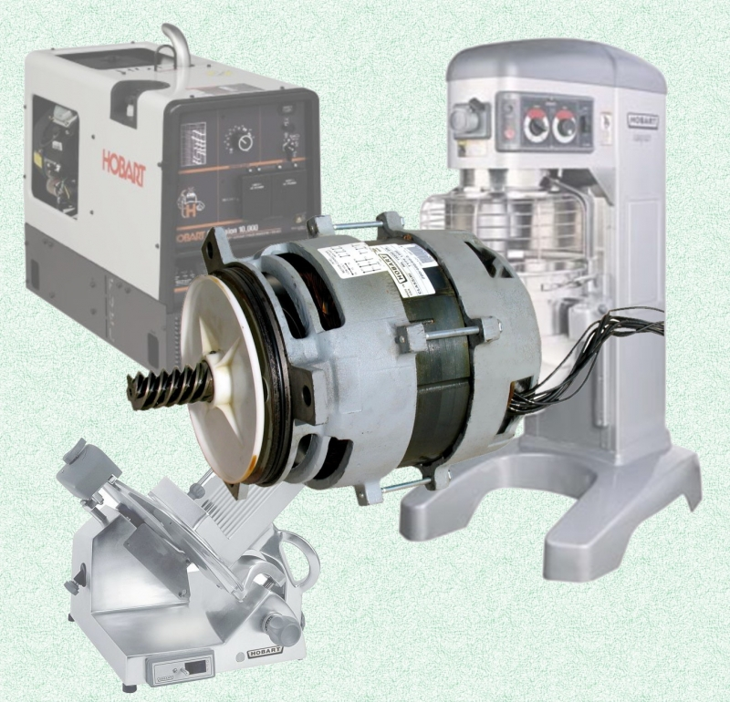 Electric motor repair hobart equipment motor repair for Biedler s electric motor repair