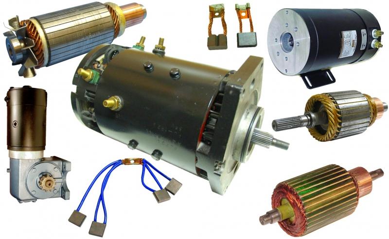 Electric motor repair forklift and scissor lift motor for Electric motor repair supplies