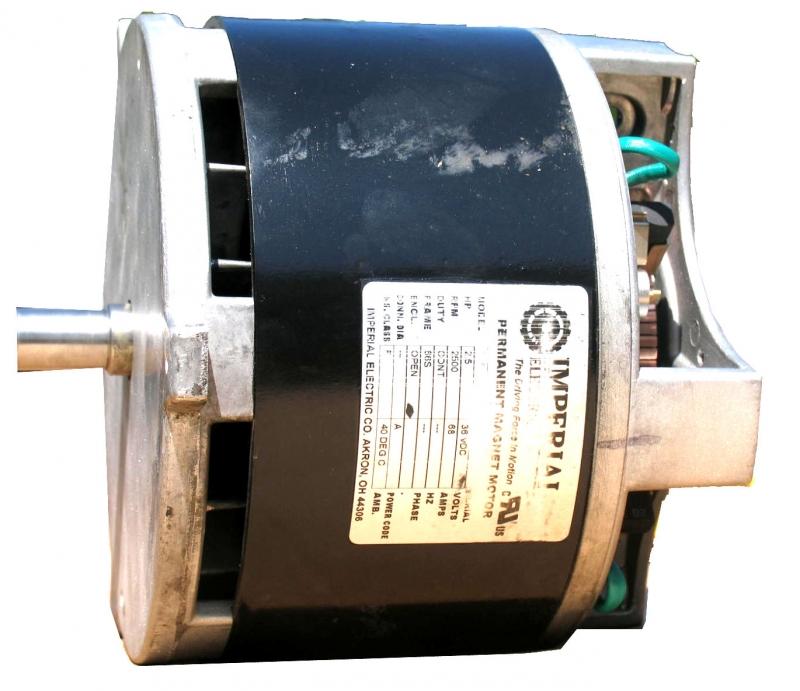 Imperial Electric Floor Machine 36v Motor Repair Motor