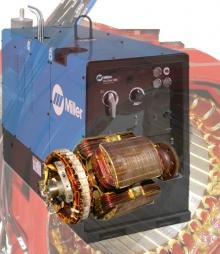 Electric Hydraulic Pump >> Miller TrailBlazer 251NT, 186238 Stator Rewind | Eurton Electric