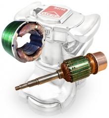 Silverline Sl7 Edger Field Coils Rewind Motor Repair
