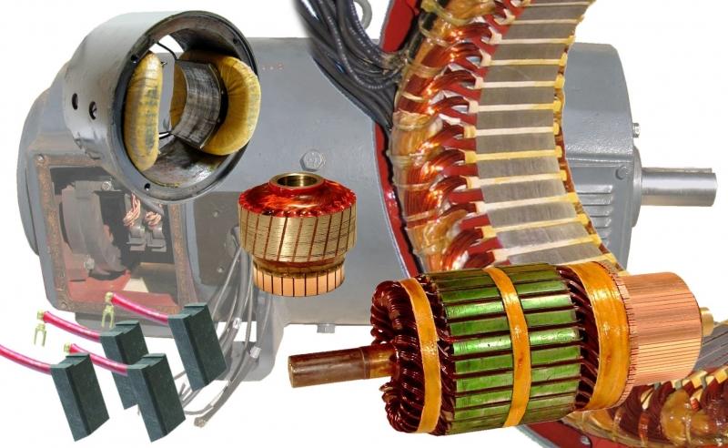 General electric ge motor repair and rewind motor for General electric motor parts