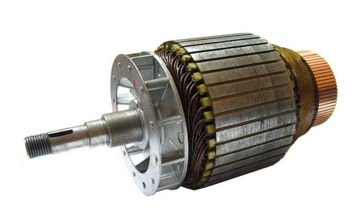 Collins 22a Pipe Machine Armature Rewind Motor Repair