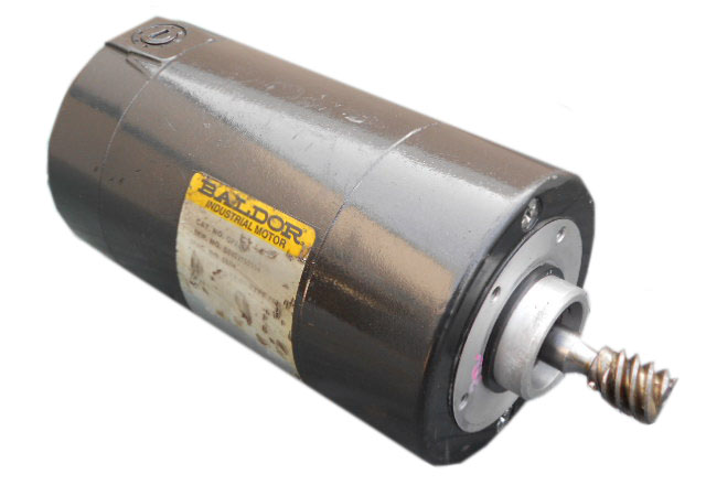 Baldor 697h sandblaster motor repair rewinds eurton electric Baldor motor repair