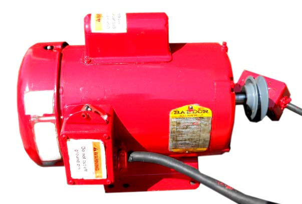 Baldor double headed concrete grinder motor repair rewinds eurton electric Baldor motor repair