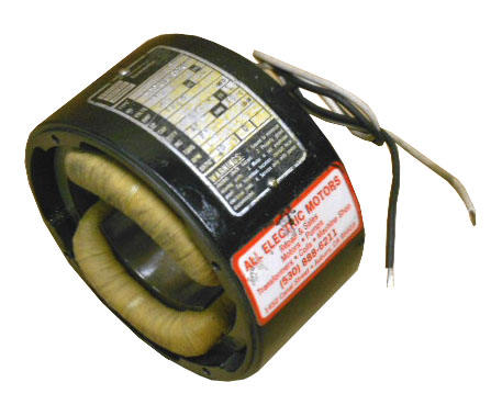Bodine field coil rewind gear motor eurton electric for Electric motor rewind prices