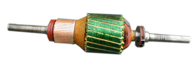 General electric 5dc46ab2014a tach armature motor repair for General electric motor parts