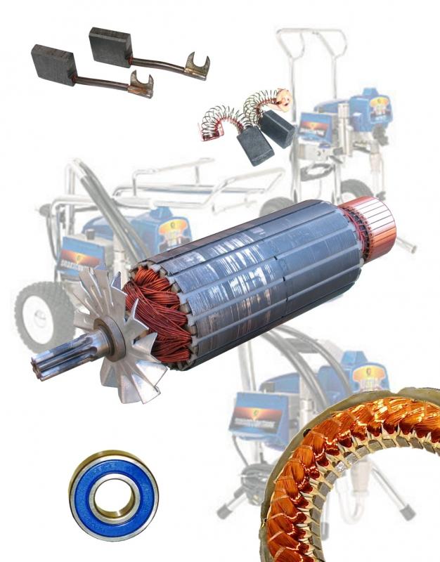 Graco paint sprayer 246500 motor repair motor repair for Electric motor repair supplies