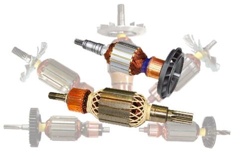 Bosch 1614010188 Armature Rewind Eurton Electric