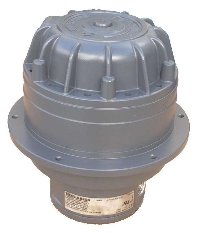 Ziehl Abegg 142603 Rf Motor Repair Motor Repair